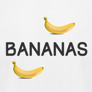 Bananas - Men's T-Shirt by American Apparel