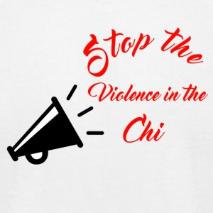 Stop the violence - Men's T-Shirt by American Apparel