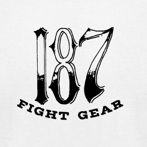 187 Fight Gear Homeware - Men's T-Shirt by American Apparel