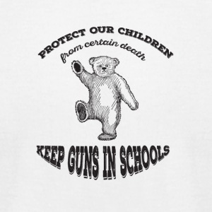 protect the children - Men's T-Shirt by American Apparel