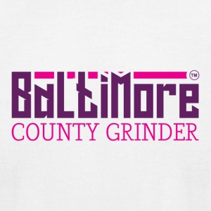 BALTIMORE COUNTY GRINDER - Men's T-Shirt by American Apparel