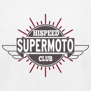 Supermoto Hispeed Club - Men's T-Shirt by American Apparel