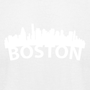 Arc Skyline Of Boston MA - Men's T-Shirt by American Apparel