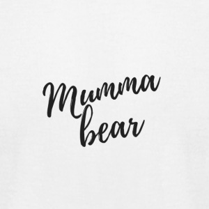 Mumma bear - Men's T-Shirt by American Apparel