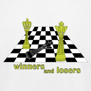 winner and loser . This is play - Men's T-Shirt by American Apparel