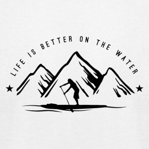 LIFE IS BETTER ON THE WATER - MAN - Men's T-Shirt by American Apparel