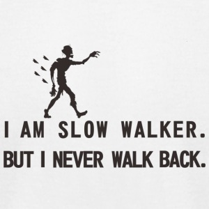I'm show walker! - Men's T-Shirt by American Apparel