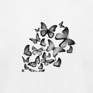 Butterfly - Men's T-Shirt by American Apparel