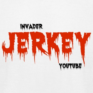InvaderJerkey Youtube - Men's T-Shirt by American Apparel