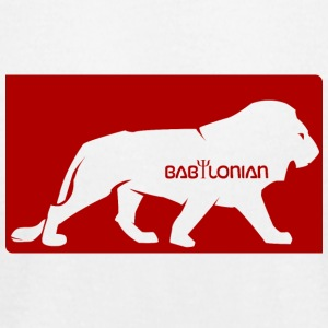 Babylonian logo - Men's T-Shirt by American Apparel