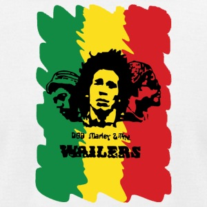 Wailing Wailers rasta - Men's T-Shirt by American Apparel