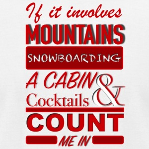 COUNT ME IN - Men's T-Shirt by American Apparel