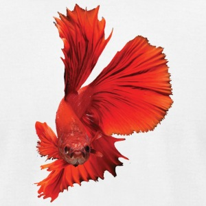 Siamese fighting fish - Men's T-Shirt by American Apparel