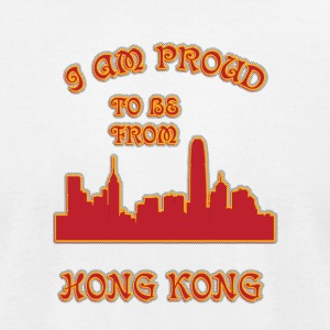 honG kong I am proud to be from - Men's T-Shirt by American Apparel