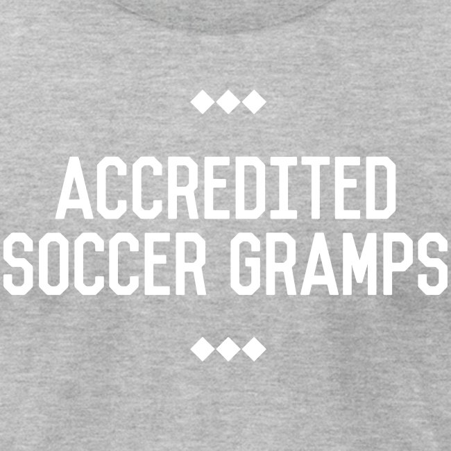 Accredited Soccer Gramps Men's Tee