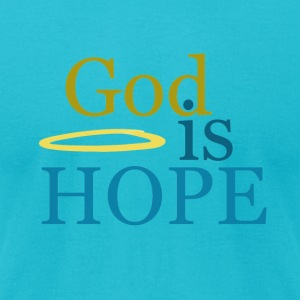 God is hope - Men's T-Shirt by American Apparel