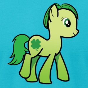 Irish Pony 2 - Men's T-Shirt by American Apparel