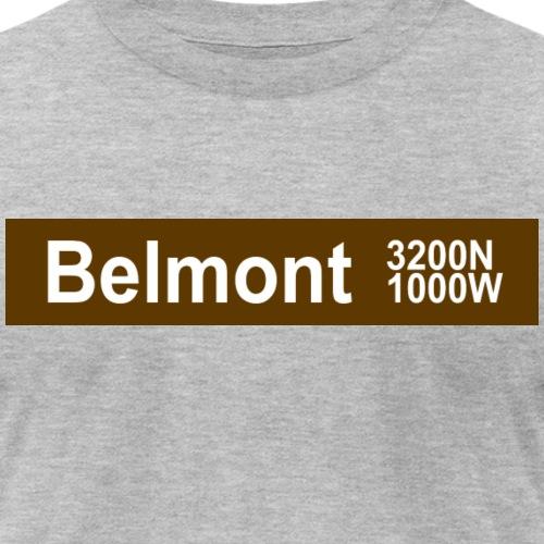 Belmont Brown Line - Unisex Jersey T-Shirt by Bella + Canvas