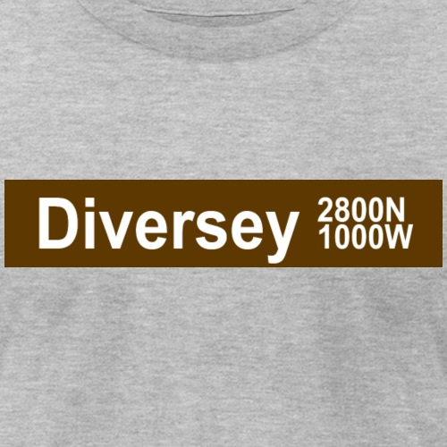 Diversey CTA Brown Line - Unisex Jersey T-Shirt by Bella + Canvas