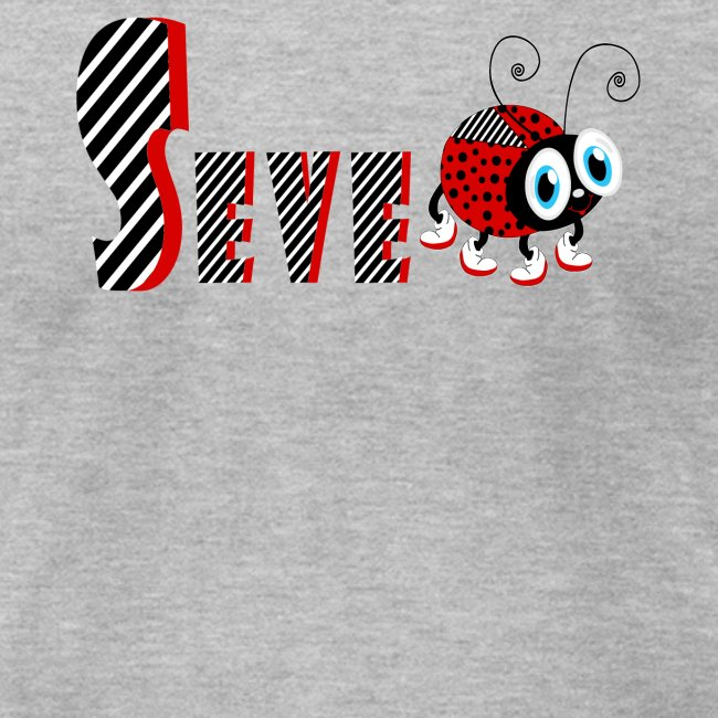 7nd Year Family Ladybug T-Shirts Gifts Daughter