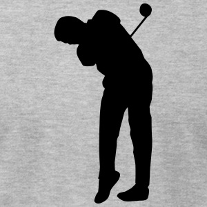 Golf player - Men's T-Shirt by American Apparel