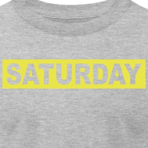 SATURDAY - Men's T-Shirt by American Apparel
