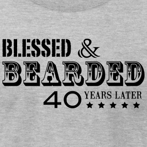 BEARD 40 YEARS - Men's T-Shirt by American Apparel