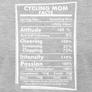 Cycling Mom Facts Daily Values May Be Vary - Men's T-Shirt by American Apparel
