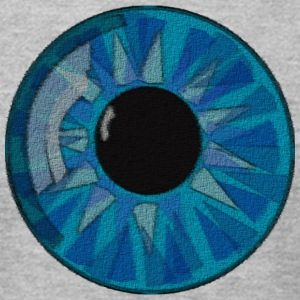 Amazing Eye - Men's T-Shirt by American Apparel
