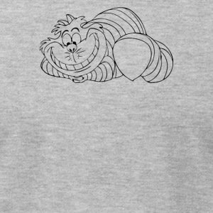 CHESHIRE CAT - Men's T-Shirt by American Apparel