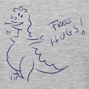 Dragon Hugs for free - Men's T-Shirt by American Apparel