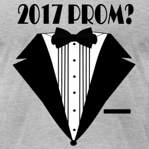 2017 Prom? - Men's T-Shirt by American Apparel
