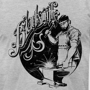 Blacksmith - Men's T-Shirt by American Apparel