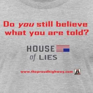 House of Lies - Men's T-Shirt by American Apparel