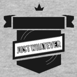 Just Whatever Royal Logo - Men's T-Shirt by American Apparel