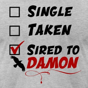 Sired to Damon - Men's T-Shirt by American Apparel