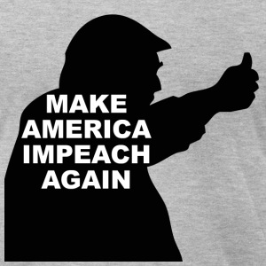 IMPEACH - Men's T-Shirt by American Apparel