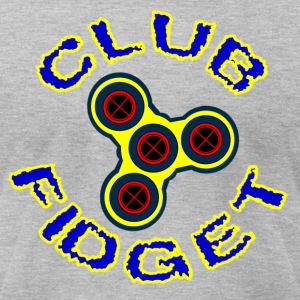 Fidget Spinner - Club Fidget - Men's T-Shirt by American Apparel