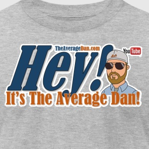 Hey Its The Average Dan Logo - Men's T-Shirt by American Apparel