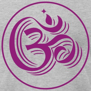 mantra om - Men's T-Shirt by American Apparel
