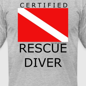Rescue Diver - Men's T-Shirt by American Apparel