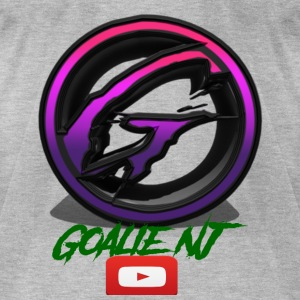 goalie nj logo - Men's T-Shirt by American Apparel