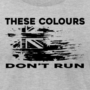 These Colours Don't Run - Men's T-Shirt by American Apparel