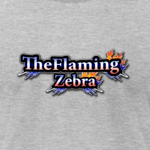 BIG TheFlamingZebra Logo - Men's T-Shirt by American Apparel