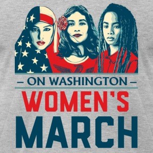 Women's March 2017t shirt - Men's T-Shirt by American Apparel