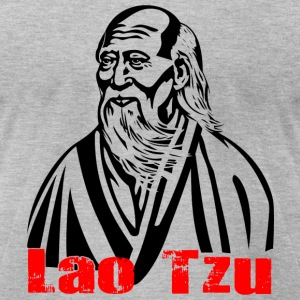lao tzu - Men's T-Shirt by American Apparel