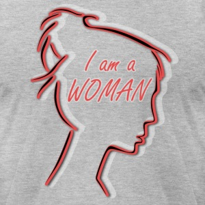 proud to be woman - Men's T-Shirt by American Apparel