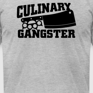 Culinary Gangster Chef - Men's T-Shirt by American Apparel