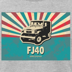 Vintage FJ40 Poster Tee - Men's T-Shirt by American Apparel