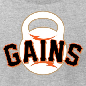 Giant Gains - Men's T-Shirt by American Apparel